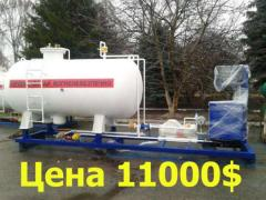 Propane gas station, the liquefied gas the module,
