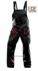 Полукомбинезон Steeluz тёмно-серый с красной...