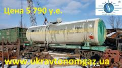 Capacity for ammonia, the ammoniac tank, a barrel for gas, 54 cbm