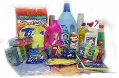 Goods of household chemicals