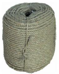 Ropes are linen hempen