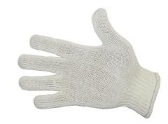 Gloves are cotton