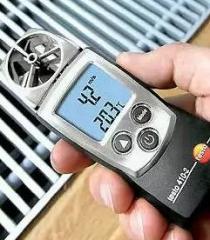Anemometer and thermohygrometer of testo 410