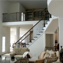 Отделка лестниц из бетона.