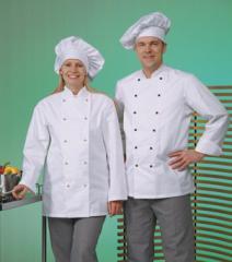 Одежда професиональная для поваров ткань-саржа