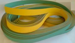 Flat driving Habasit belts for the equipment of