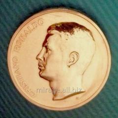 Сувенирная медаль Криштиану Роналду