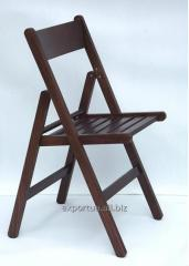 Folding chair wooden nut