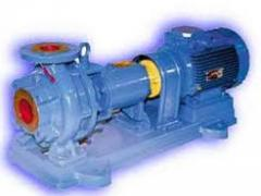 Pumps for chemical production