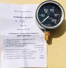 Pressure gauge MT-60UP