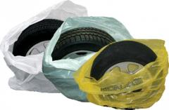 Package for packing of tires