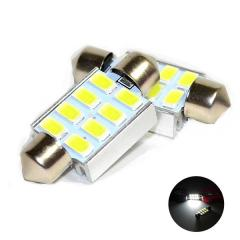 Led of a lamp Festoon C5W 8SMD 5630 Canbus 36mm