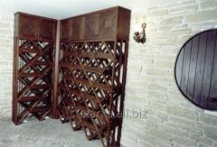 Wine depositories