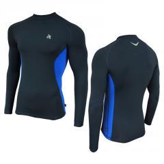 Кофта мужская спортивная с длинным рукавом Radical Fury Duo LS темно-синяя
