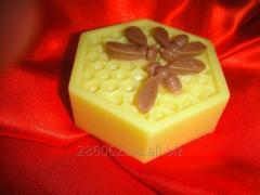Honey soap.