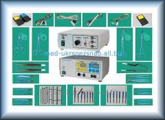 Device high-frequency electrosurgical Nadiya model