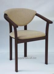 Кресло мягкое деревянное Alica