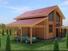 Строительство деревянных домов, цены на деревянные дома, срубы
