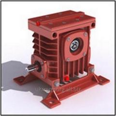 Single worm gearboxes