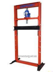 Press of hydraulic floor 50 tons