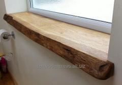 Wooden window sills, production of window sills
