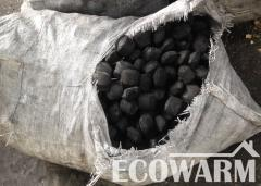 Coal anthracite in a payment order bags of 1 t.