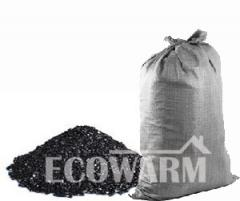 Coal of the AKO 25-100 brand in bags to 1 ton
