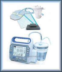 The pump vacuum for therapy of wounds of HEACO