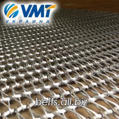 Conveyor mesh braided rod (spiral rod)