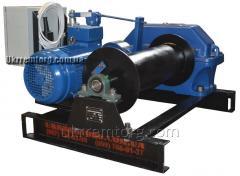 Лебедка электрическая монтажная ЛМЧ-1,0 (1т/1000кг)