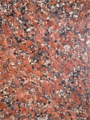 Червоний граніт Rosso Santiago Капустянське