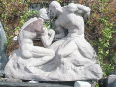 Скульптура Борцы