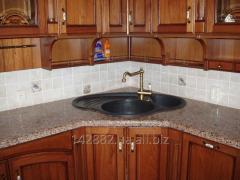 Столешницы из гранита для кухни, ванной и других