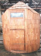 Universal, mobile bath sweating room