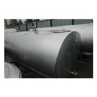 The tank for milk cooling b / u 1600l. with a new