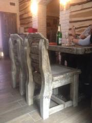 Мебель под старину, брошыровка мебели, мебель для