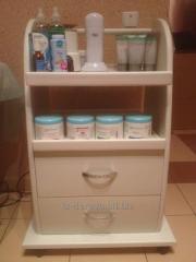 Cosmetological trolleys