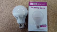 Лампа светодиодная 3W, E27 6000K, d61mm, 170-265V