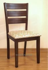 餐椅帶襯墊的座位,椅子廚房椅,天然木材