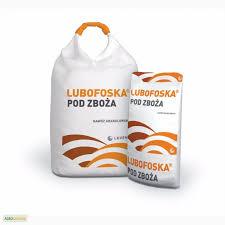 Lubofoska of 4:12:12%, % CaO-14,
