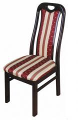 Krzesło do jadalni z wyściełane siedzenia, krzesła