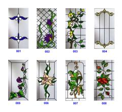 To buy stained-glass windows in Kharkiv, facades
