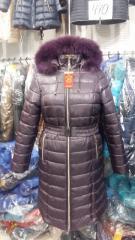 The coat is female winter. PM model