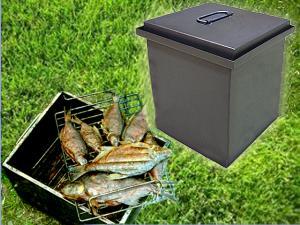 Коптильня для горячего копчения мясных и рыбных