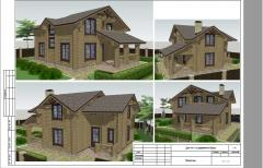 Design and construction of wooden houses
