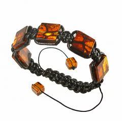 Bracelet Shambhala from amber