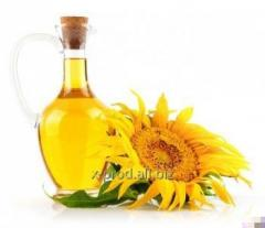 Sunflower oil (nefasovany) which is not refined