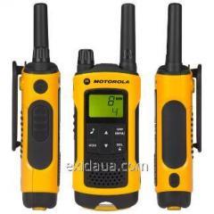 Handheld transceiver of Motorola TLKR T80 Extreme