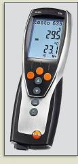 Thermohygrometers of the professional class testo