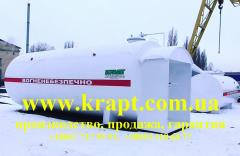 The tank of 50 CBM for Modular gas station, pass